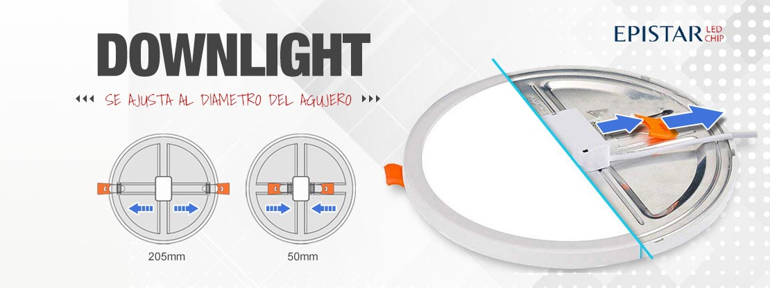 Downlight AJUSTABLE