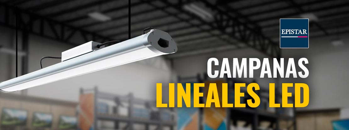 banner Campanas lineales led