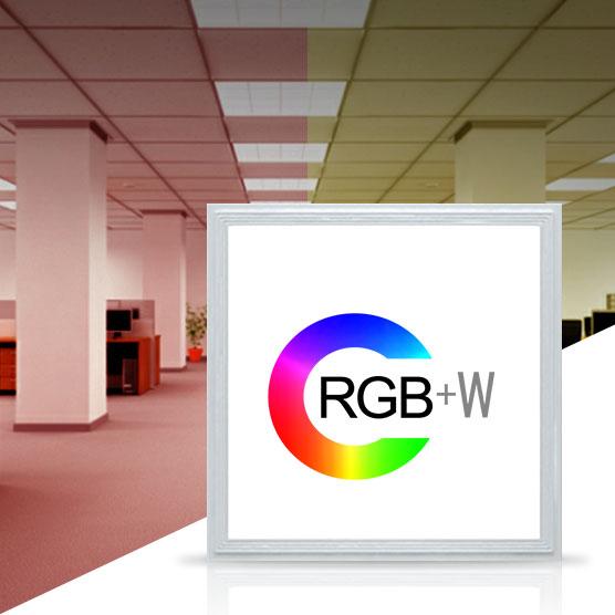 Paneles híbridos RGB+W