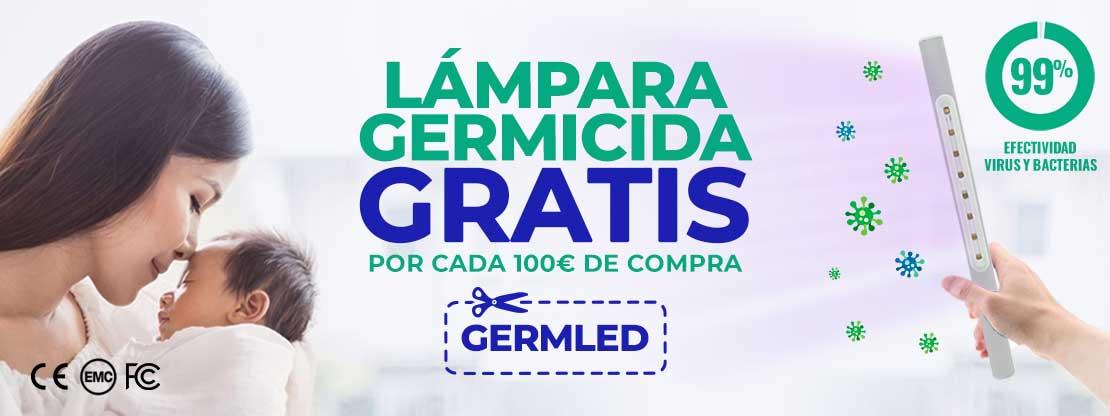 Lámparas germicidas