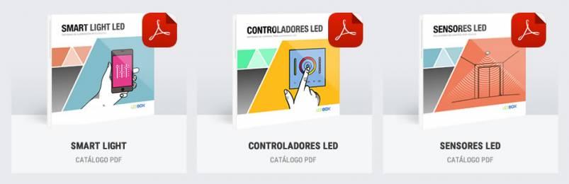 CATALOGOS PDF CONTROL LED