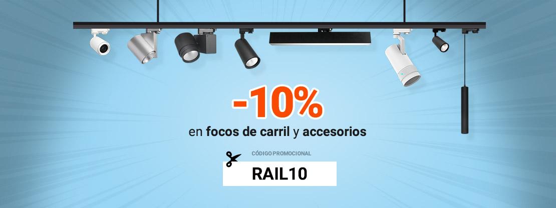 Banner Focos de carril descuento 10%