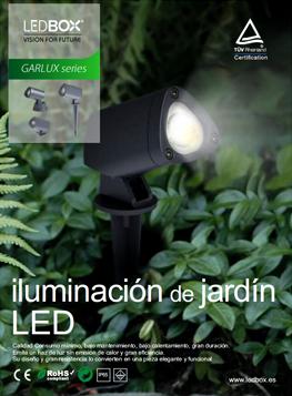 Catálogo GARLUX focos de jardín