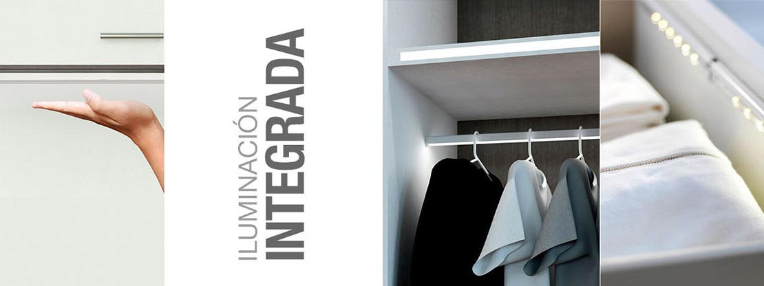 Iluminación integrada