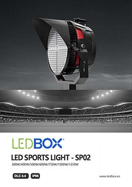 Catálogo Proyectores LED Sport