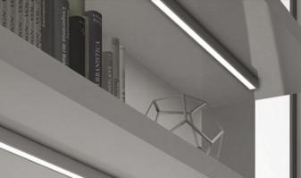 Combina as barras de luz com sensores