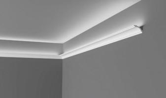 Cornisas iluminacion led para reforzar las líneas arquitectónicas