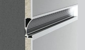 Perfiles de pared de aluminio