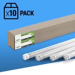 PACK x10 TUBO LED