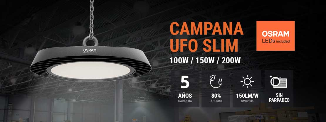 Banner Campanas UFO Slim Osram