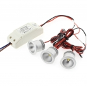 PACK 3 x Foco Led GOST MINI, 3x3W