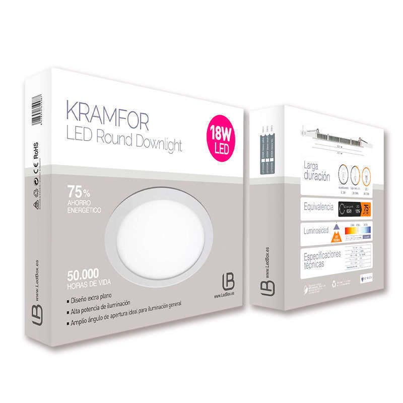 Downlight Led KRAMFOR EPISTAR 18W