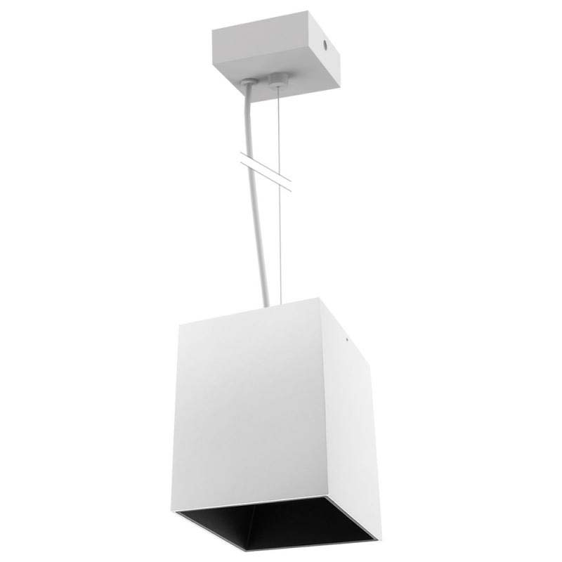 Lámpara de techo blanca PROLUX Suspend Housing Square 110