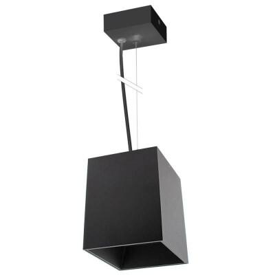 Lámpara de techo negra PROLUX Suspend Housing Square 110