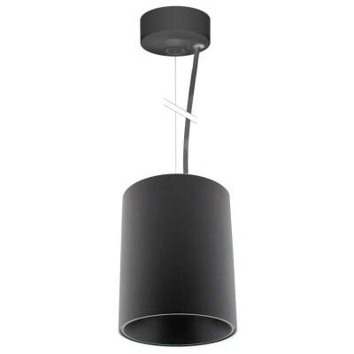Lámpara de techo negra PROLUX Suspend Housing Round Ø135