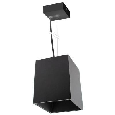 PROLUX Suspend Housing Square 135, lámpara de techo negra