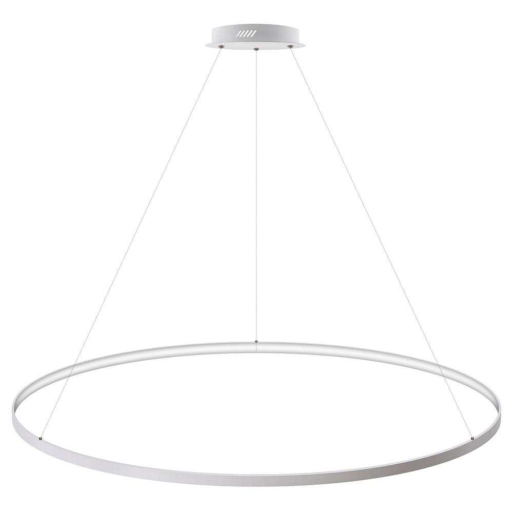 Luminaria colgante CYCLE IN, 130W, blanco, Ø140cm
