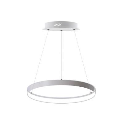 Luminaria colgante CYCLE OUT, 38W, blanco, Ø40cm, Blanco cálido