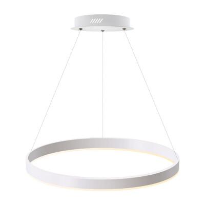 Luminaria colgante RING 37W, Ø600mm, Blanco cálido