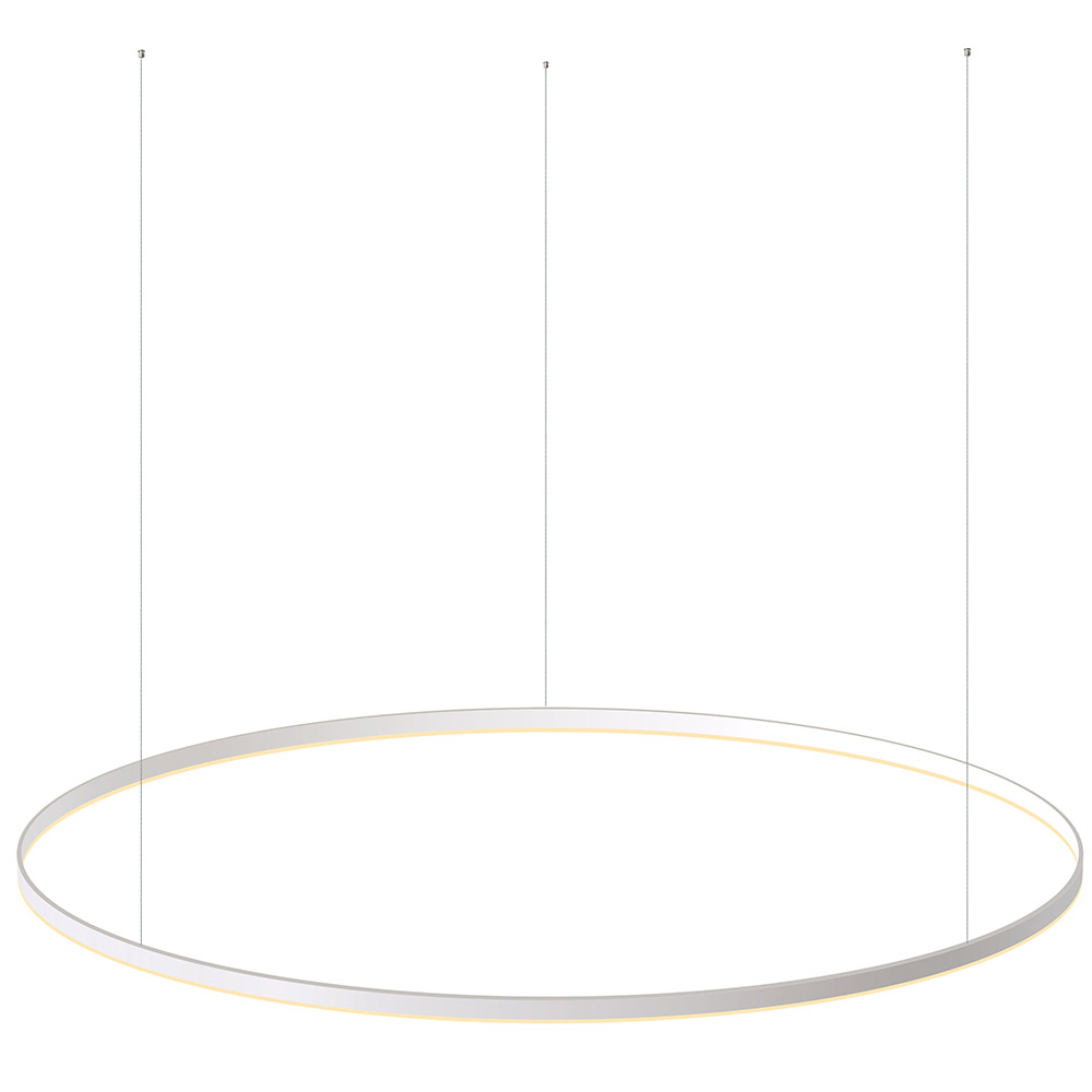 Luminaria colgante RING 115W, Ø1800mm
