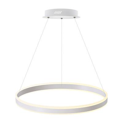 Luminaria colgante RING UP 76W, Ø600mm, CCT regulable, Blanco dual, Regulable