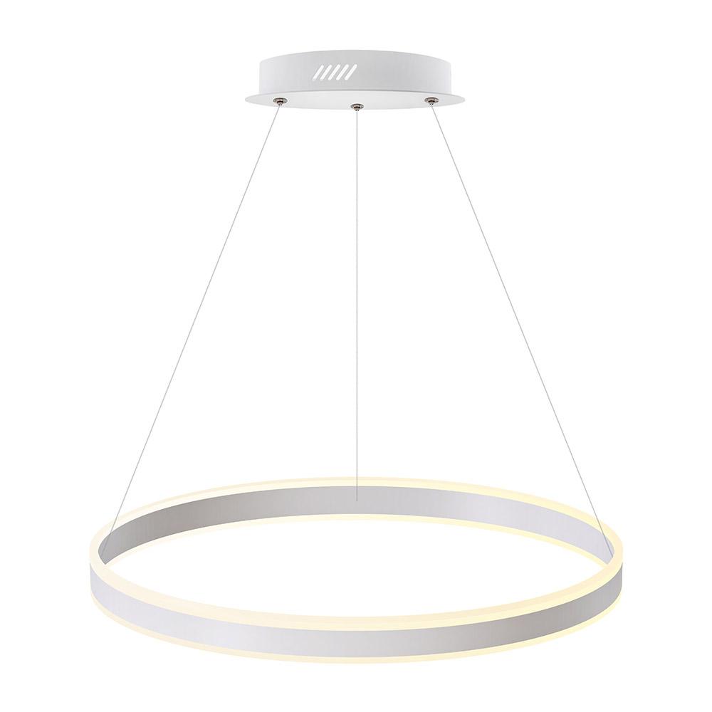 Luminaria colgante RING UP 76W, Ø600mm, CCT regulable