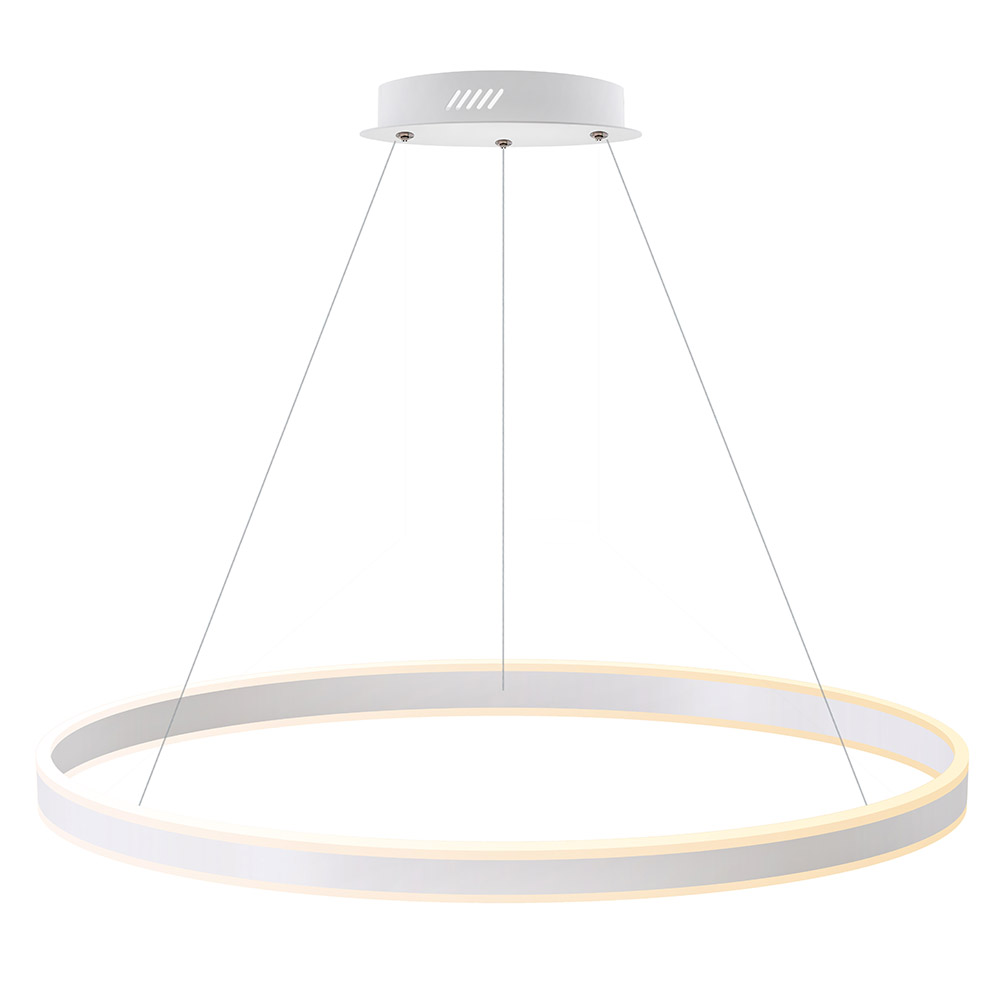 Luminaria colgante RING UP 125W, Ø1000mm