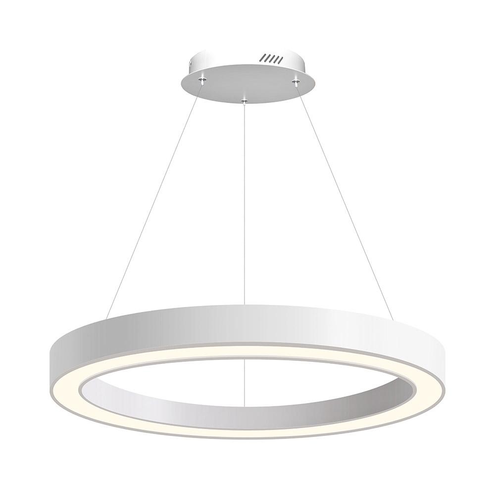 Luminaria colgante RING, Ø800-6575mm, 40W, blanco