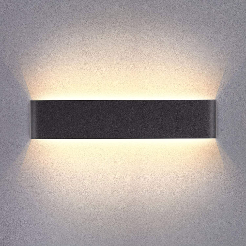 Aplique Led KLAN 410, 14W, negro