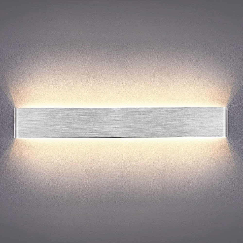 Aplique Led KLAN 720, 24W, silver