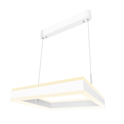 Luminaria colgante CUBE UP 50W, 400X400mm, CCT regulable, Blanco dual, Regulable