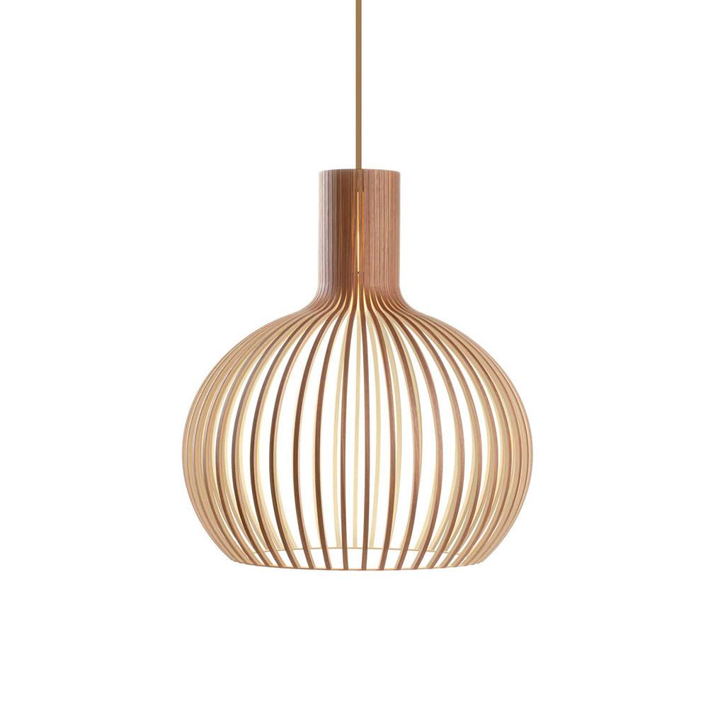 GROA Lámpara de madera Ø230mm
