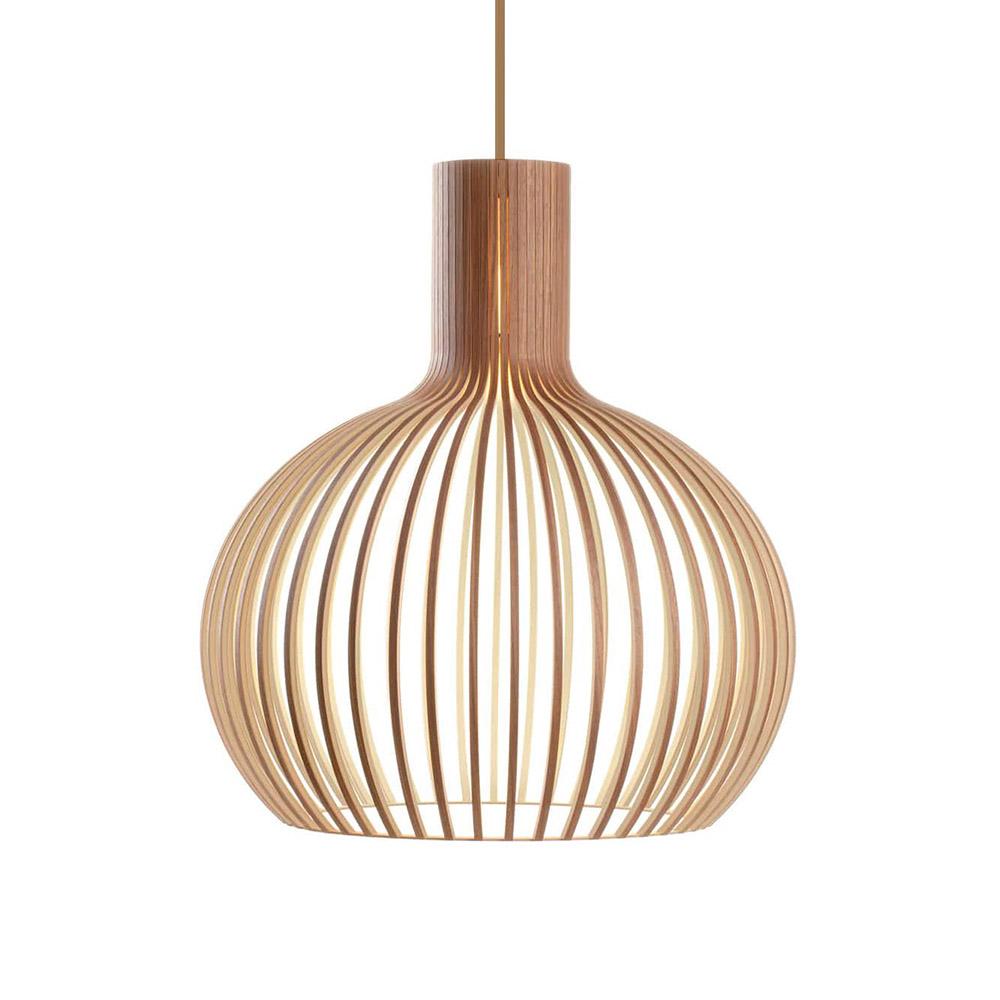 GROA Lámpara de madera Ø350mm