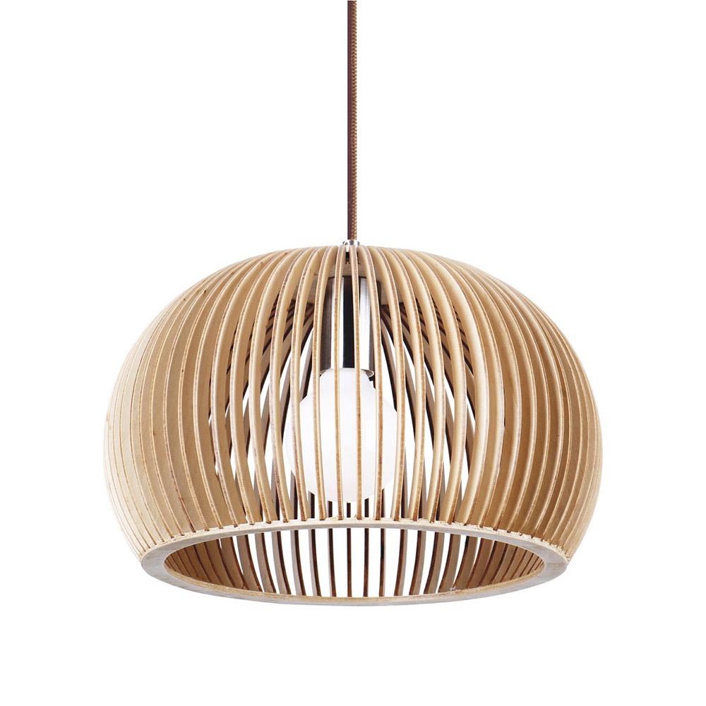 GLOBO Lámpara de madera Ø330mm