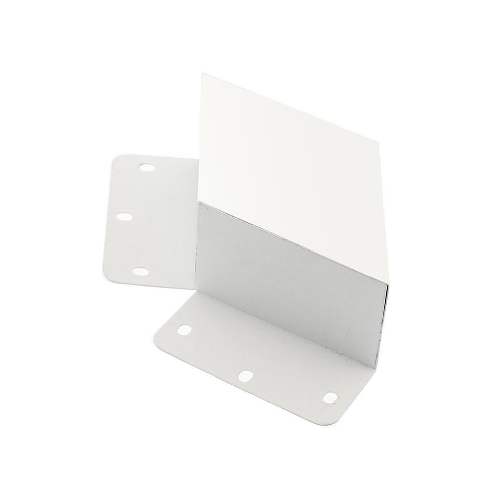 Unión doble 60° blanca para luminaria lineal MOD