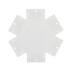 Unión exagonal 60° blanca para luminaria lineal MOD