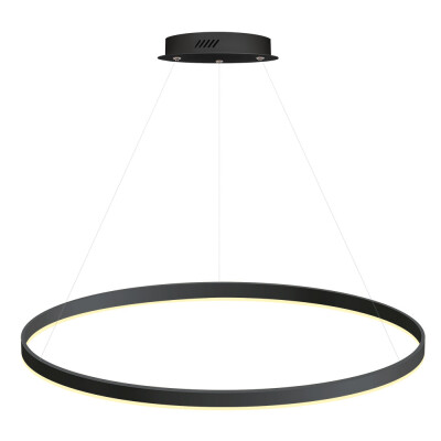 Luminaria colgante RING 56W, Ø900mm, Blanco frío