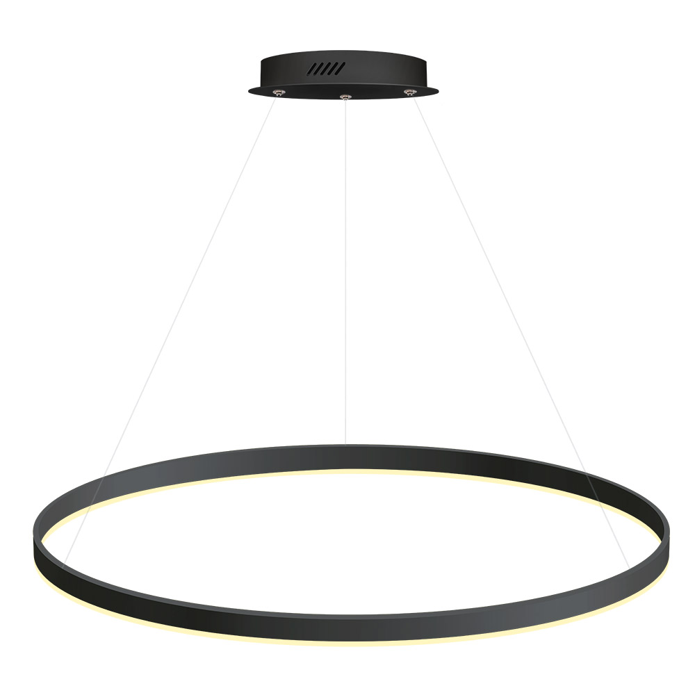 Luminaria colgante RING 56W, Ø900mm