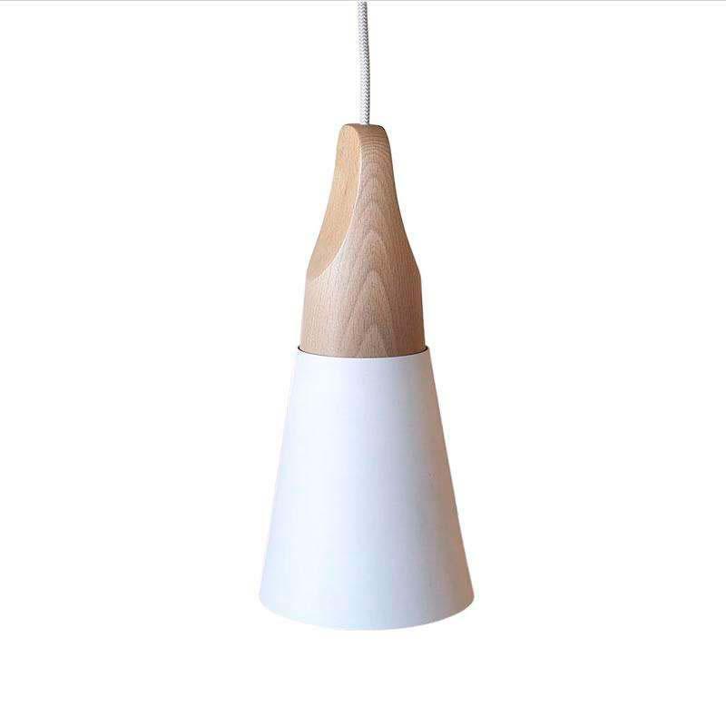 Lámpara colgante KONO Blanco