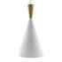 Lámpara colgante VITE Blanco, E27