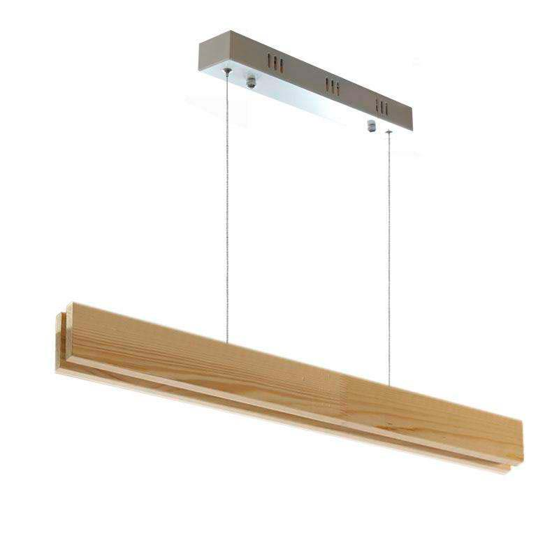 Lámpara colgante WOOD SUSPEND, 18W, CRI95