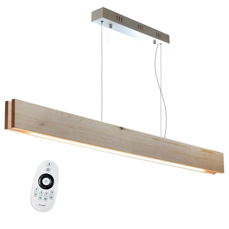 Lámpara colgante WOOD XL SUSPEND, 30W, DUAL