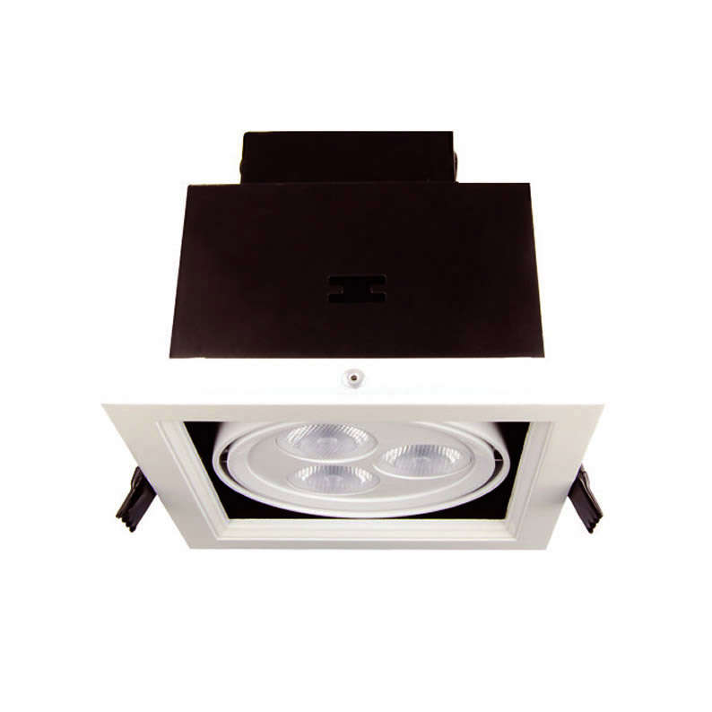 Downlight Led, KARDAN, 1 foco 9W, blanco cálido -