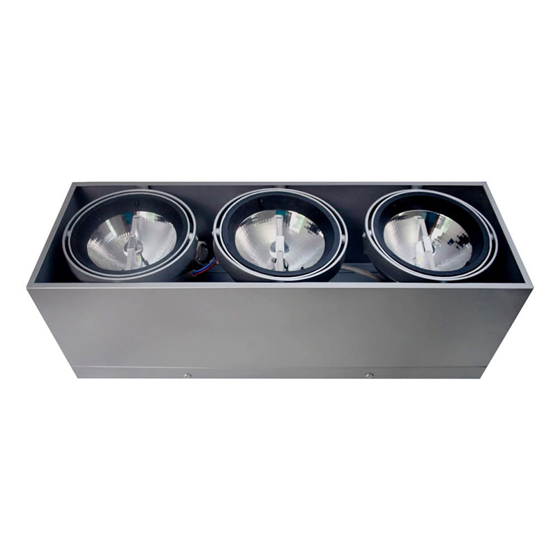Housing para Downlight Led, KARDAN HIDRA, 3 focos -