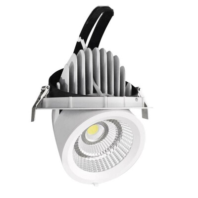 Downlight Led PRICKLUX TUBE 25W, Blanco cálido