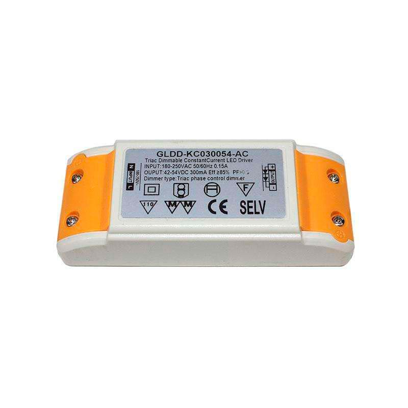 LED Driver DC42-54V/16W/300mA,TRIAC Regulable
