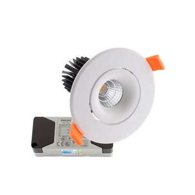 Downlight Led LUXON CREE 9W, Regulable driver PHILIPS, Blanco frío, Regulable