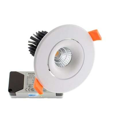 Downlight Led LUXON CREE 12W, Regulable driver PHILIPS, Blanco frío, Regulable