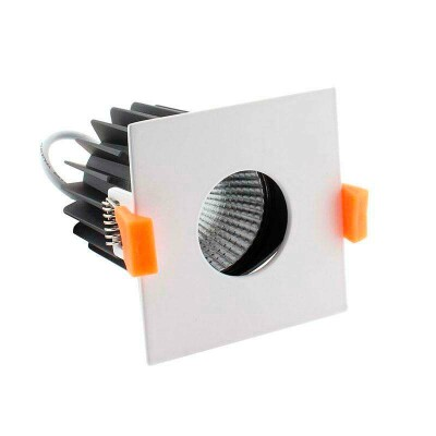Downlight Led HOTEL S CREE 12W, Regulable, Blanco frío, Regulable