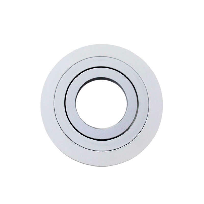 Housing for Led downlight,  x2 rings